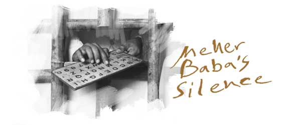 Meher Baba's Silence day is coming on 10 July